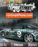 Nfs Car 01 theme screenshot