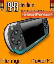 PSP 03 es el tema de pantalla