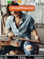 Johnny Depp es el tema de pantalla