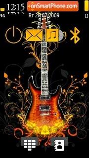 Guitar 05 es el tema de pantalla