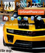 Скриншот темы Camaro 2