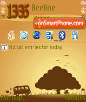 Chocolate Night Theme-Screenshot