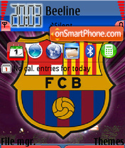 FC barcelona 05 es el tema de pantalla