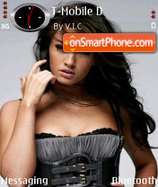 Megan Fox 06 theme screenshot