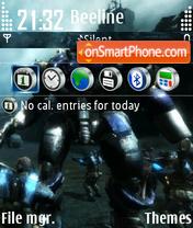 Скриншот темы Stormrise