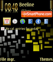 GoldenTouch theme screenshot