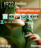 Скриншот темы Green Wisper