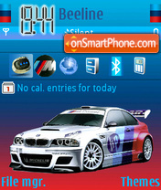 Bmw m power theme screenshot