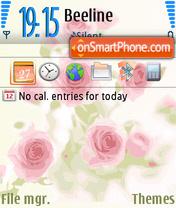 Pink Roses 01 es el tema de pantalla