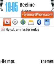 WBO theme screenshot