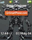 Megatron es el tema de pantalla