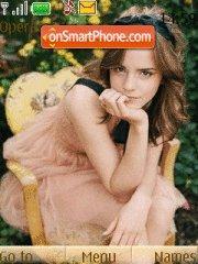 Emma Watson 09 theme screenshot