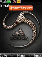 Adidas animated theme screenshot