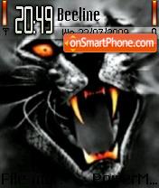 Black Leopard es el tema de pantalla