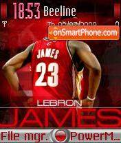 Lebron Jame theme screenshot