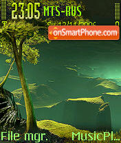 Island In The Dark es el tema de pantalla