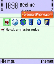 Xplore theme screenshot