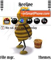 Funny Smiley Icons theme screenshot