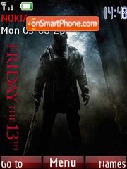 Friday The 13th 2009 theme screenshot