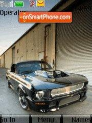 Скриншот темы Ford Mustang 72