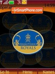 Rajasthan Royals 01 theme screenshot