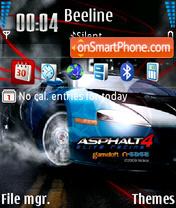 Asphalt 4 Elite Racing 01 theme screenshot