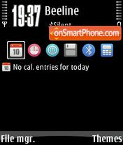 OMB theme screenshot