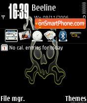 Allert theme screenshot