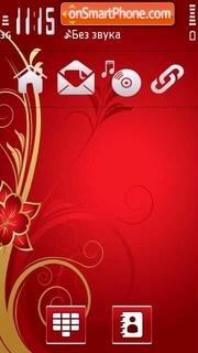 Скриншот темы Red Shine