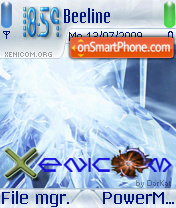 Xenicomice 01 theme screenshot