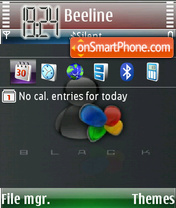 Msn color theme screenshot