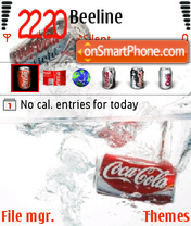 Coke 02 theme screenshot
