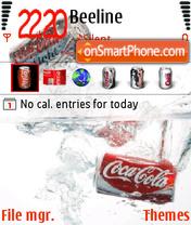 Скриншот темы Coke 02