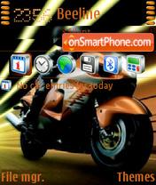 Racer 02 es el tema de pantalla