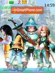Final Fantasy IX theme screenshot