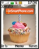 Birthday's Little Cake tema screenshot
