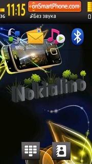 Nokialino 5800 theme screenshot
