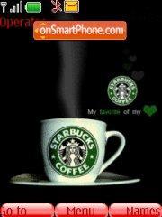 Starbucks theme screenshot