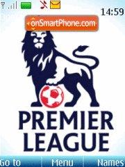 Premier League theme screenshot