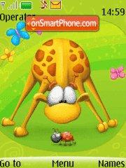 Toosh Giraffe theme screenshot