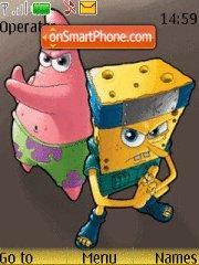 Скриншот темы Spongebob Kun
