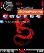 Скриншот темы Dragon Red