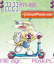 Mimihopps tema screenshot