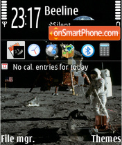 Apollo 01 theme screenshot