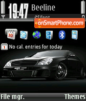 Brabus rocket 01 Theme-Screenshot