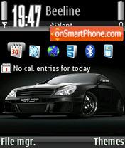 Brabus rocket 01 theme screenshot