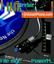 DJ Mixer es el tema de pantalla