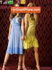 Ashley Tisdale and Miley Cyrus es el tema de pantalla