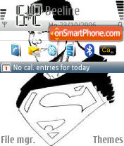 Superboy theme screenshot