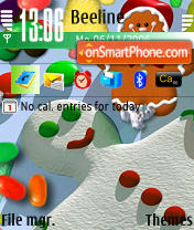 N90 Christmas theme screenshot